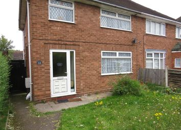 Thumbnail 2 bed property to rent in Wolmer Road, Essington, Wolverhampton