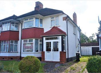 Thumbnail 4 bedroom semi-detached house for sale in The Ridgeway, Croydon