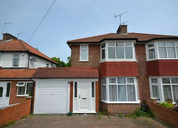 Thumbnail 4 bed semi-detached house to rent in Orchard Gate, Greenford, Middlesex
