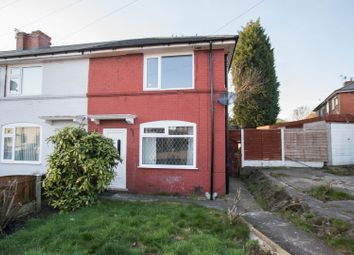 Thumbnail 2 bed end terrace house for sale in Bakewell Road, Eccles