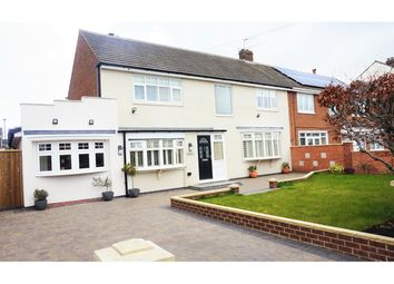 Thumbnail 5 bedroom semi-detached house for sale in Cauldwell Villas, South Shields