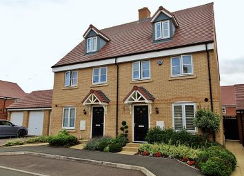 Thumbnail 4 bed semi-detached house for sale in Hawking Drive, Biggleswade