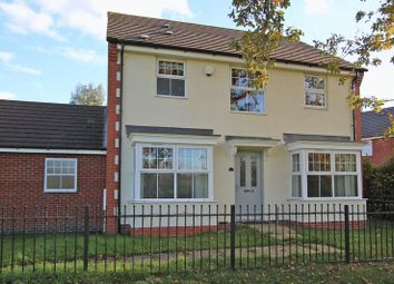 Thumbnail 4 bed link-detached house for sale in Percival Way, Groby, Leicester LE6, Groby,