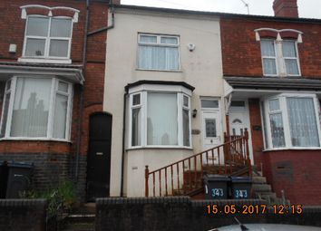 Thumbnail 3 bed terraced house for sale in Heather Road, Small Heath