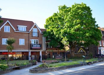 Thumbnail 2 bed flat to rent in Cheam Road, Ewell, Epsom