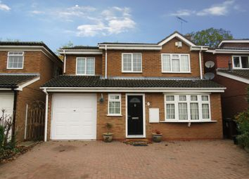 Thumbnail 4 bed detached house for sale in Trustin Crescent, Solihull