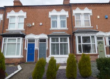 Thumbnail 3 bed terraced house for sale in Victoria Road, Harborne, Birmingham
