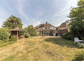 Thumbnail 3 bed semi-detached house for sale in Old Manor Drive, Whitton, Twickenham