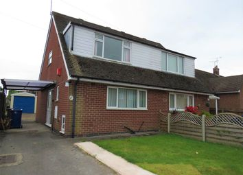 Thumbnail 2 bed semi-detached house for sale in Hawthornden Avenue, Uttoxeter