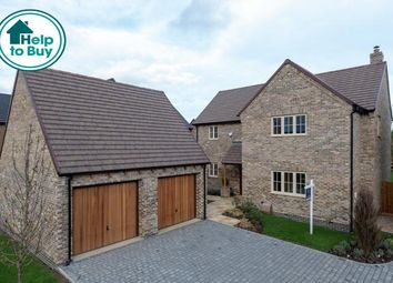 Thumbnail 4 bedroom detached house for sale in The Ashridge, Marketing Suite And View Home, Broadgate, Great Easton