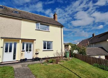 Thumbnail 2 bed end terrace house for sale in Trenoweth Crescent, Alverton, Penzance..