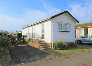 Thumbnail 2 bed mobile/park home for sale in Drakes Close, Broadway Mobile Home Park, Lancing
