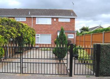 Thumbnail 3 bed end terrace house for sale in King's Lynn, Norfolk
