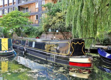 Thumbnail 1 bedroom houseboat for sale in Wenlock Basin, Wharf Road, Islington