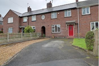 Thumbnail 3 bed terraced house to rent in Stringer Avenue, Sandbach
