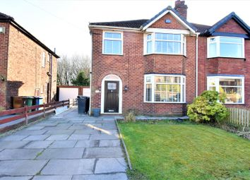 Thumbnail 3 bed semi-detached house for sale in Chaddock Lane, Worsley, Manchester