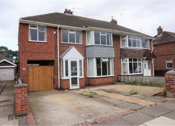 Thumbnail 4 bed semi-detached house for sale in Worlaby Road, Grimsby