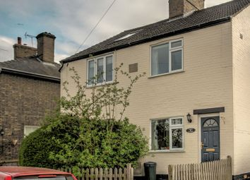 Thumbnail 2 bed semi-detached house for sale in West Fen Road, Ely