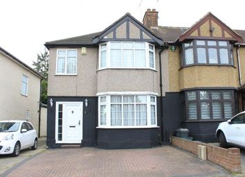 Thumbnail 3 bed end terrace house for sale in Greenleafe Drive, Barkingside, Ilford