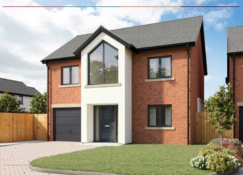Thumbnail 4 bed detached house for sale in Silver Birches, Croxton Lane, Middlewich