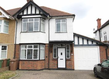 Thumbnail 3 bed semi-detached house for sale in Senhouse Road, North Cheam, Sutton