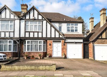 4 bed semi-detached house for sale in Pangbourne Drive, Stanmore, Middlesex HA7