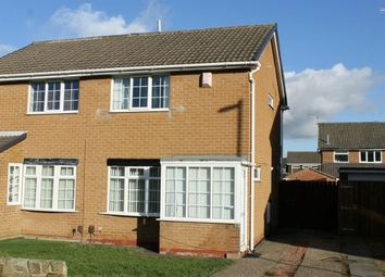 Thumbnail 2 bed semi-detached house for sale in Meath Way, Hunters Hill, Guisborough