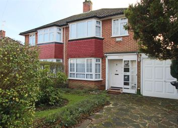 Thumbnail 3 bed semi-detached house for sale in Merryhills Drive, Enfield