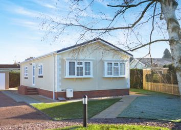 Thumbnail 2 bed mobile/park home for sale in The Regency, Kings Head Park, Newport
