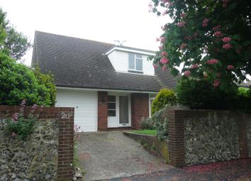 Thumbnail 3 bed property to rent in Grove Road, Seaford