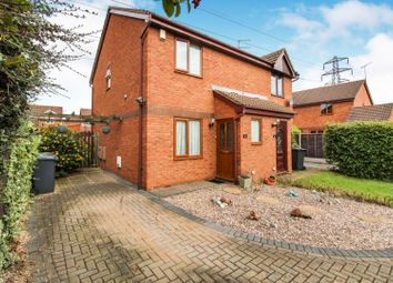 Thumbnail 2 bed semi-detached house for sale in Tregony Way, Stenson Fields, Derby