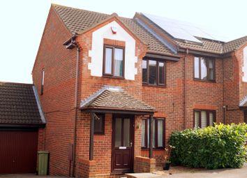 Thumbnail 3 bed semi-detached house to rent in Sweetlands Corner, Kents Hill, Milton Keynes