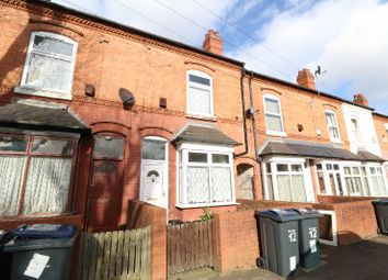 Thumbnail 3 bed terraced house to rent in Arthur Road, Handsworth, West Midlands