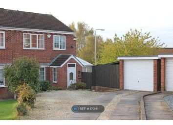 Thumbnail 4 bed semi-detached house to rent in Birkdale, Worksop
