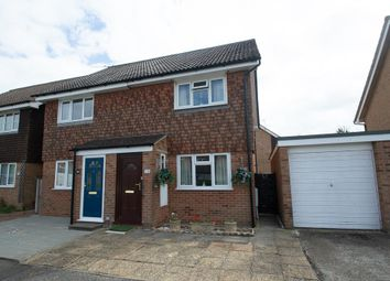 Thumbnail 2 bedroom semi-detached house for sale in Ashdown Road, Bexhill-On-Sea