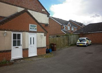 Thumbnail 1 bed property to rent in Mannington Gardens, Northampton