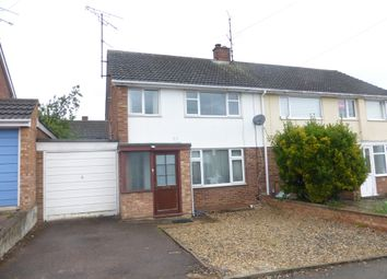 Thumbnail 3 bed semi-detached house for sale in Ashcroft Close, Duston, Northampton
