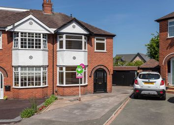 Thumbnail 3 bed semi-detached house for sale in Primrose Grove, Newcastle-Under-Lyme