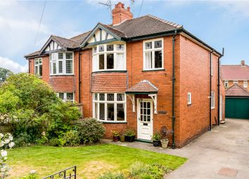Thumbnail 3 bed semi-detached house for sale in Clotherholme Road, Ripon, North Yorkshire