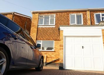 Thumbnail 3 bed semi-detached house to rent in Woodcote Way, Benfleet