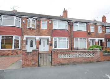 Thumbnail 3 bed terraced house for sale in Mead Street, Hull