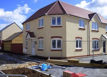 Thumbnail 3 bedroom semi-detached house for sale in Curtis Way, Weymouth