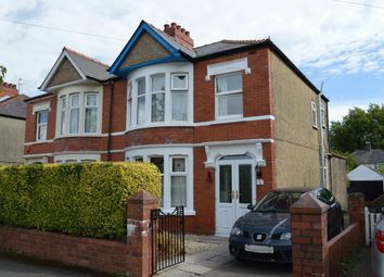 Thumbnail 3 bed semi-detached house for sale in Tair Erw Road, Heath, Cardiff
