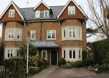Thumbnail 4 bed semi-detached house to rent in Pine Grove, Weybridge