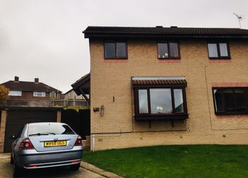 Thumbnail 3 bed semi-detached house for sale in Deepdale Road, Bolsover Chesterfield