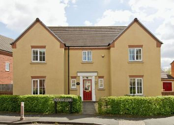 Thumbnail 4 bed detached house for sale in Newbold Close, Darwin Park, Lichfield