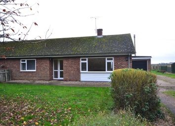 Thumbnail 3 bed semi-detached bungalow to rent in Ploughmans Drove, Feltwell, Thetford