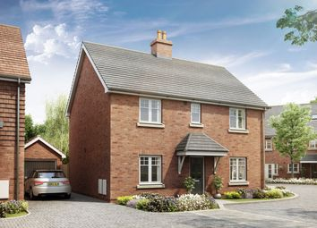 "Thumbnail 4 bed detached house for sale in ""The Leverton"" at Crow Lane, Crow, Ringwood"
