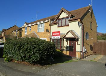 Thumbnail 2 bedroom end terrace house for sale in Pevensey Close, Rushden