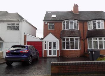Thumbnail 4 bed semi-detached house for sale in Yateley Crescent, Great Barr, Birmingham